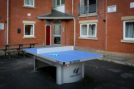 Photo of a manchester Student Village South.