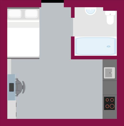 Premier Studio with Accessible Bathroom