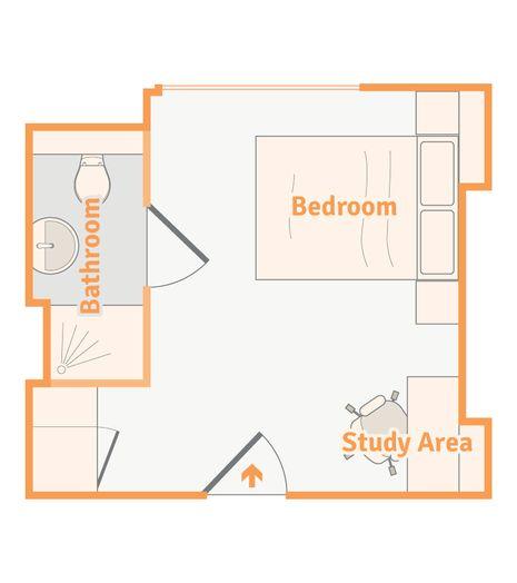 Bloomsbury Ensuite Room