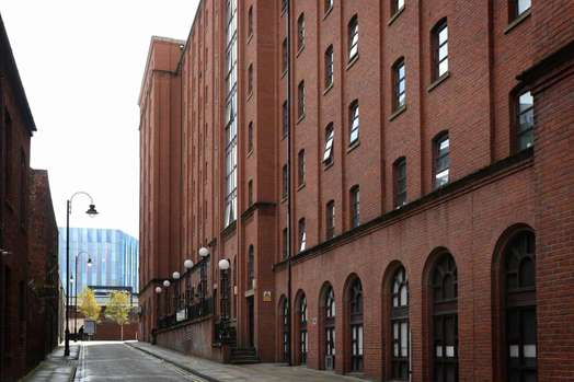 Photo of a manchester Student Village.
