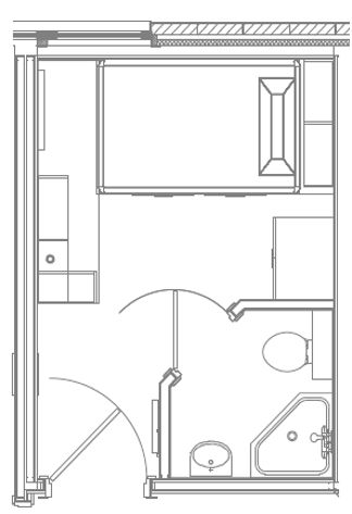 Hill Flat (5 bed)